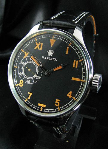 Rolex Vintage WWII Era 1940's Steel Watch Elegant and beautiful! Love watches? Follow http://everythingforguys.co.uk