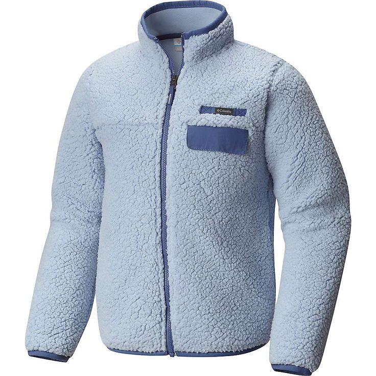 Columbia Youth Mountain Side Heavyweight Full Zip Fleece Jacket ...