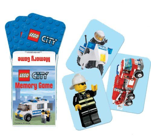 Lets Party By Amscan LEGO City Memory Game