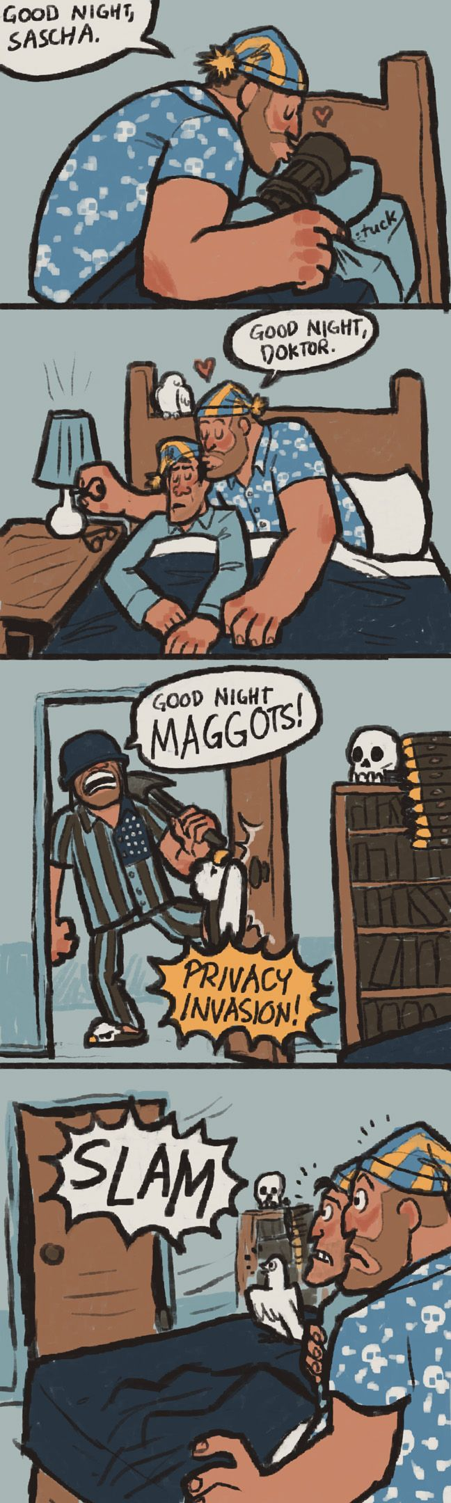 GOOD NIGHT MAGGOTS by ~TimeLordEnglish on deviantART