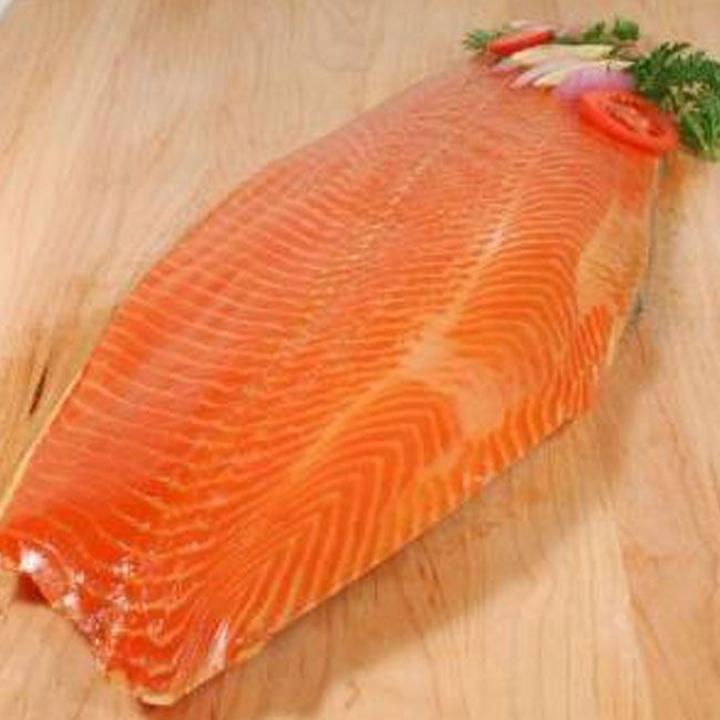 Smoked salmon kg  Cost: 2440/-