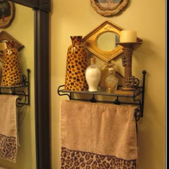 for African bathroom decor