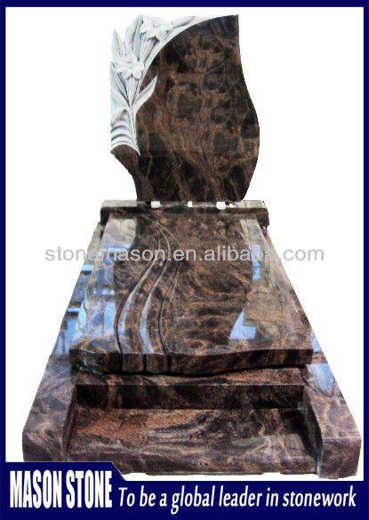 Mason high quality modern granite tombstone designs $500~$1500