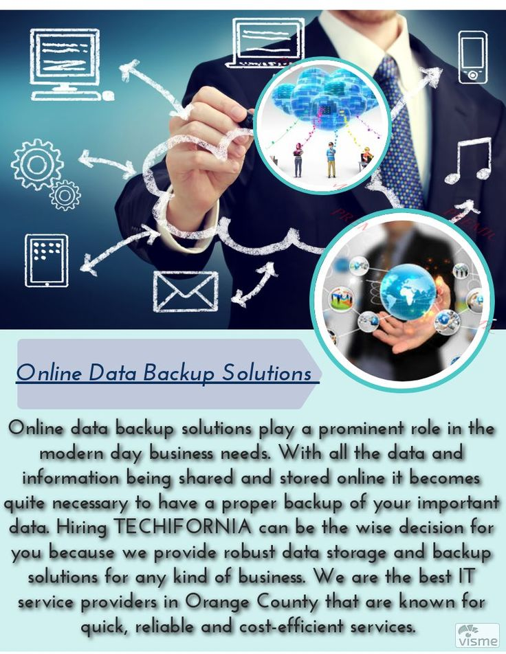 #Databackup is very important for today's business. For getting fast and secure online data backup solutions you need to hire professional #cloudservices providers.