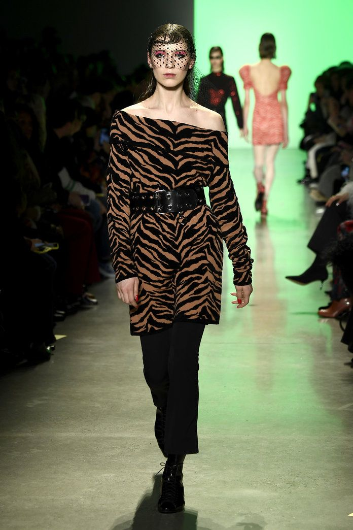 All The New York Fashion Week Designers That Went Wild For Animal Print Fashion New York Fashion Fashion Week