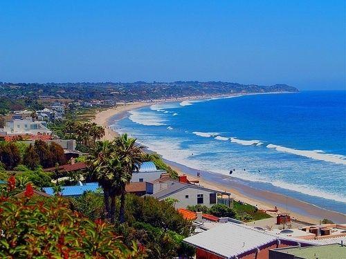 Beautiful Malibu Beach California  Can we please take a road trip one day to Malibu while we are away?    @Jenn L Carone