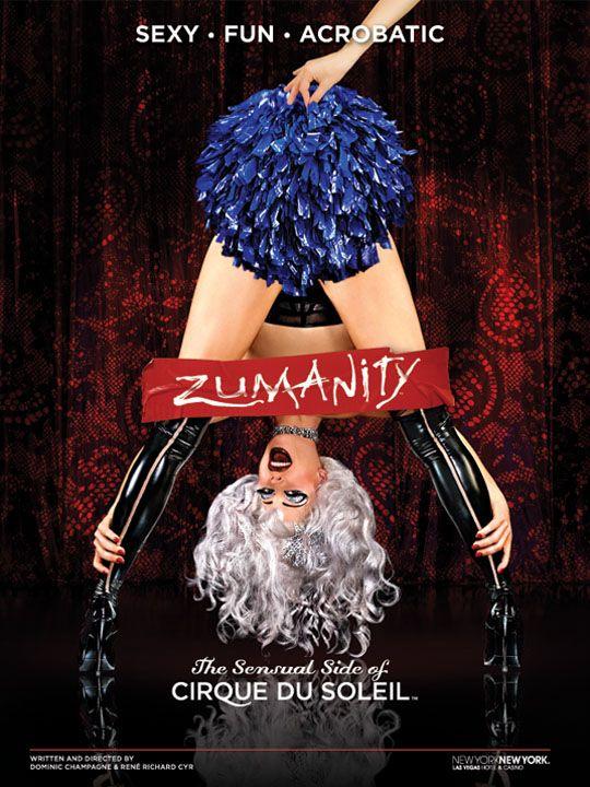 Zumanity - cirque-du-soleil, Las Vegas NV