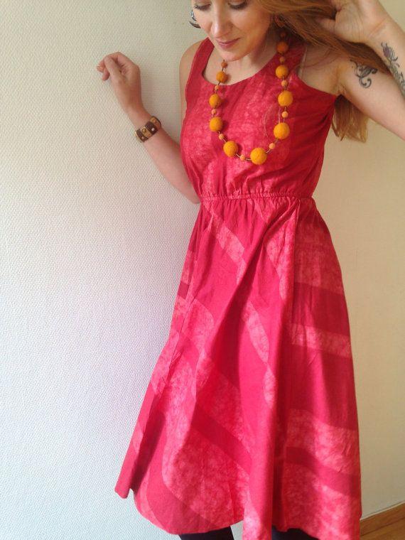 Classy batique dress by KofiDesigns on Etsy