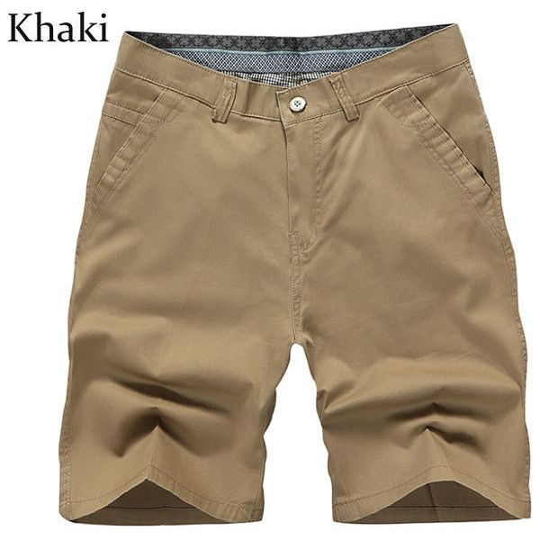 Summer Plus Size Casual Knee Length Cotton Blended Beach Shorts ($18) ❤ liked on Polyvore featuring men's fashion, men's clothing, men's shorts, mens beach wedding apparel, mens beach shorts, mens plus size board shorts, mens summer shorts and plus size mens clothing