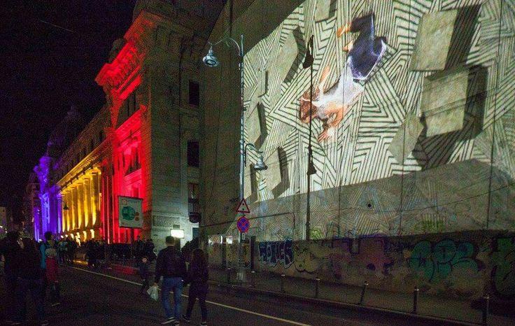 #Bucharest Light Festival Photo: Petru Ivu