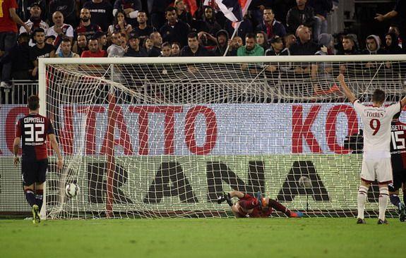 Lucky Lob? Giacomo Bonaventura (AC Milan) vs Cagliari