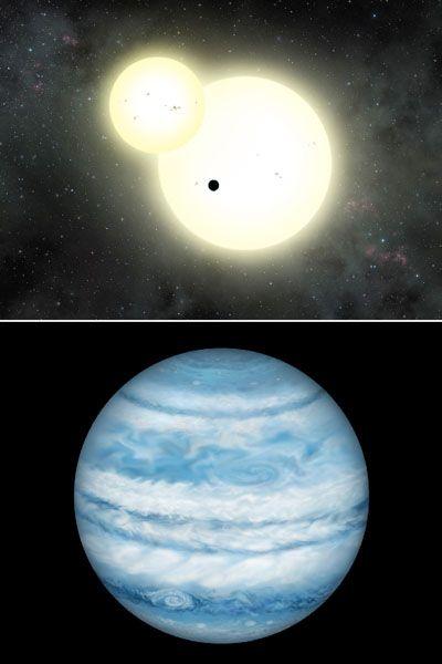 3700光年先にある連星で最大の惑星、木星に類似 | オピニオンの「ビューポイント」