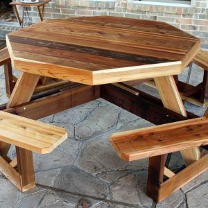 8 Seater Round Picnic Table Cover