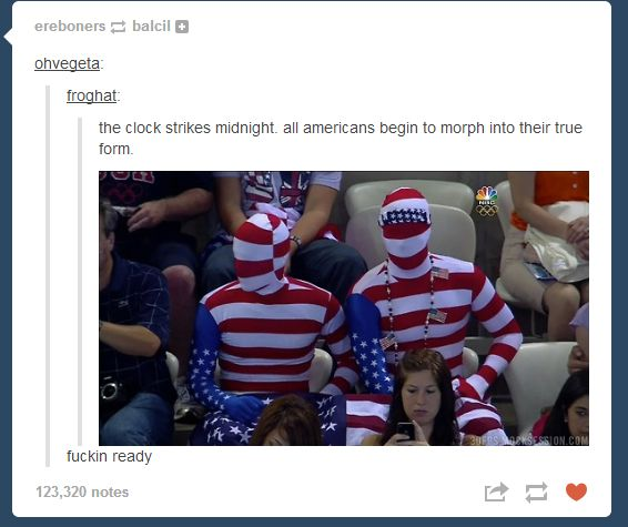 All Americans shall take their final and true form