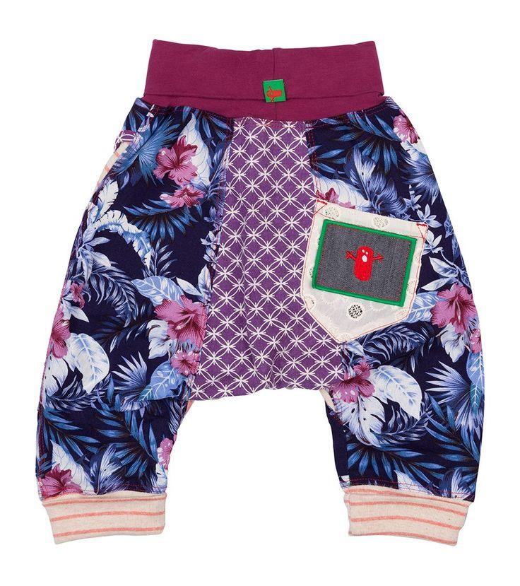 Flurry Harem Pant, Oishi-m Clothing for kids, Holiday 2015, www.oishi-m.com