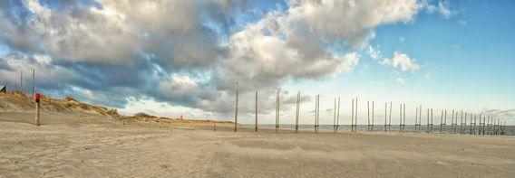 Panoramafoto van het strand van Texel / Panoramic photo beach of Texel. #Texel #strand #panorama #werkaandemuur #fotograaf #fotografie #justinsinner #natuur #wadden #nature #waddeneiland  http://justinsinner.nl
