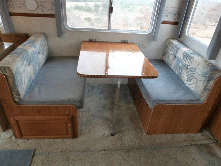 Rv Dinette Table Bed Seat Frame And Cushions Tables