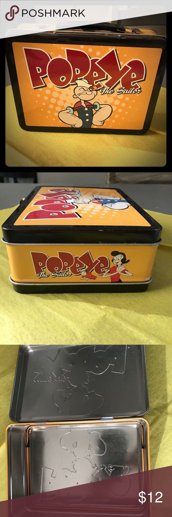 Vintage Popeye Lunch Tin Vintage Popeye Lunch Tin is in excellent condition. Vintage Other
