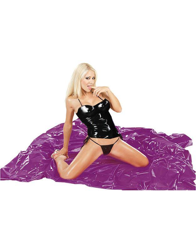 Ein Lila #Lacklaken für Deine #Ölspiele und Erotik Orgie. Dieses #Laken in der sexy Farbe Lila macht einfach #Lust auf mehr. Ganze 200 x 230 cm in Ergänzung zu Deiner #Lackbettwäsche. Unterschiedlich ..