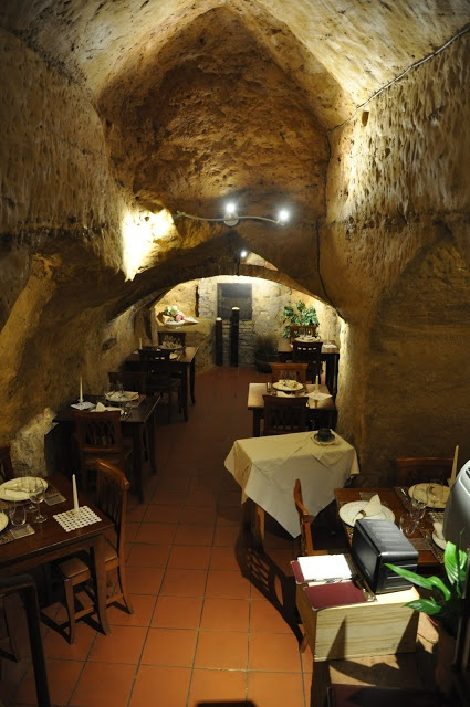 Dinner in an Etrucan tomb -- a visit to Antica Osteria Da Divo in Siena, Italy: http://www.traveladdicts.net/2012/10/siena-italy.html