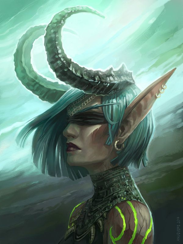 Demon Hunter By Angevere Deviantart Com On Deviantart Warcraft
