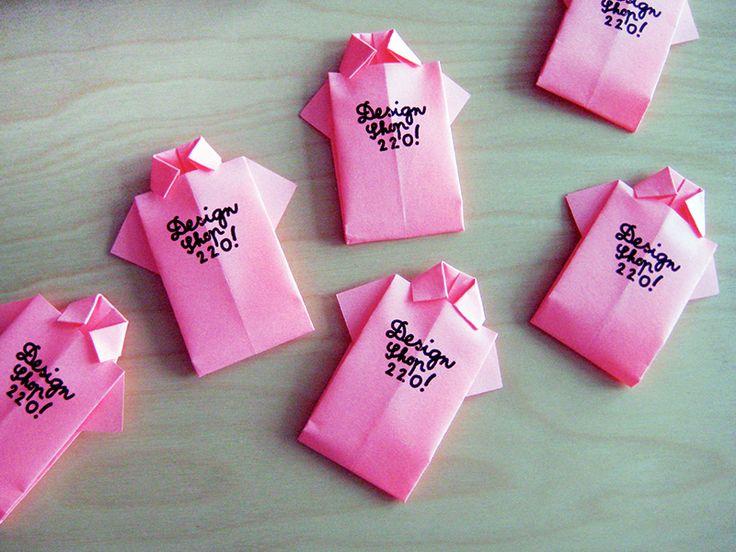 Pink Shirt Business Card