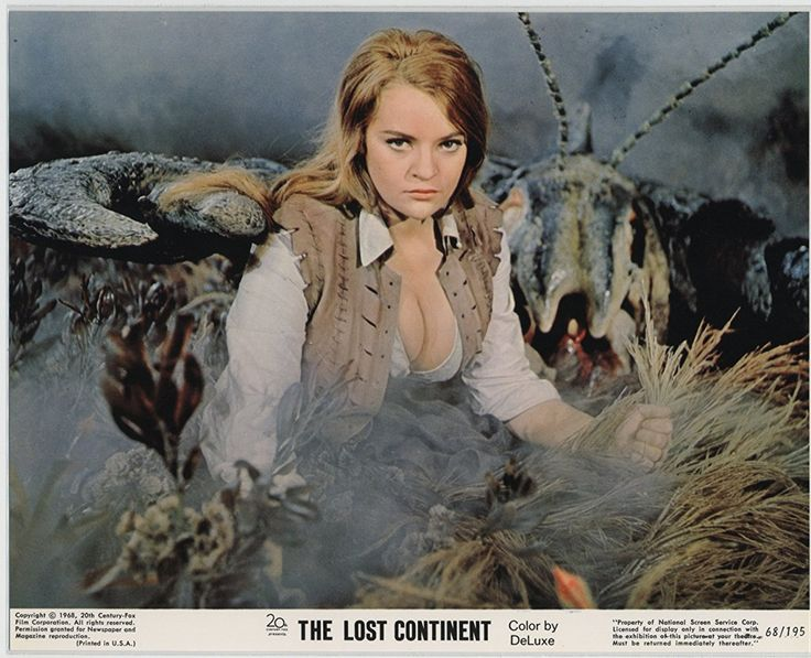 Dana Gillespie in THE LOST CONTINENT (1968)
