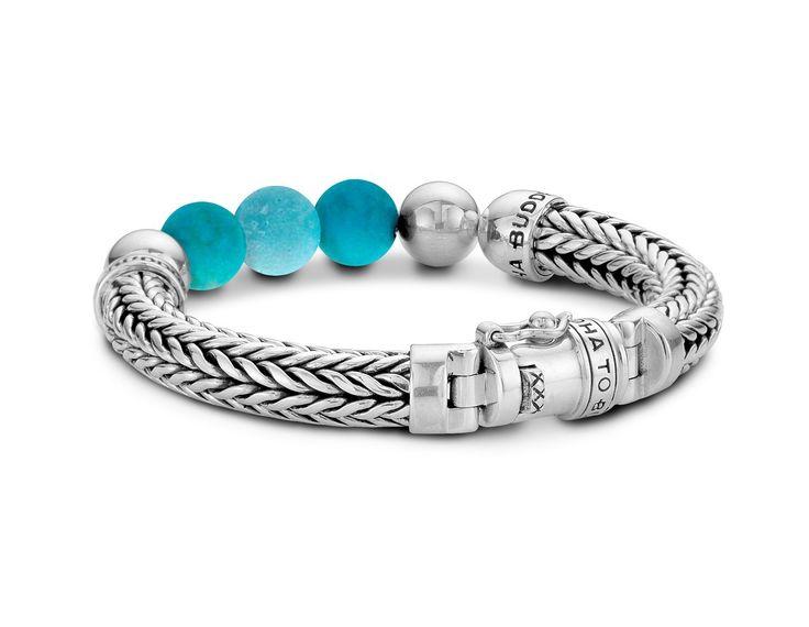 Label Aware - Ellen Bracelet Turquoise Beads 632TU | Buddha to Buddha | Sterling Silver Bracelets, $549.00 (http://www.labelaware.com/jewelry/ellen-bracelet-turquoise-beads-632tu-buddha-to-buddha-sterling-silver-bracelets/)