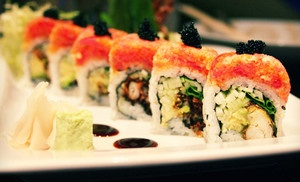 Groupon - $10 for $20 Worth of Sushi and Asian Food at Te Kei's in Tulsa (Cherry Street). Groupon deal price: $10.00