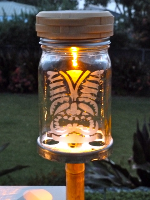 Outdoor Tiki Lights The Ones From Home Depot Made Of