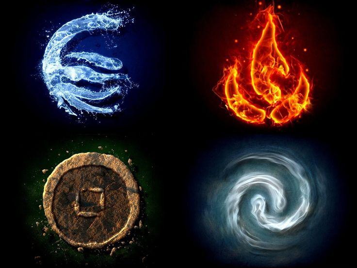 Les 4 éléments (Avatar)