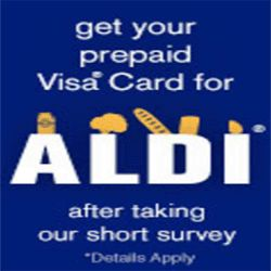 How To Get A $100 Aldi Visa Gift Card - Everyone should know about ...