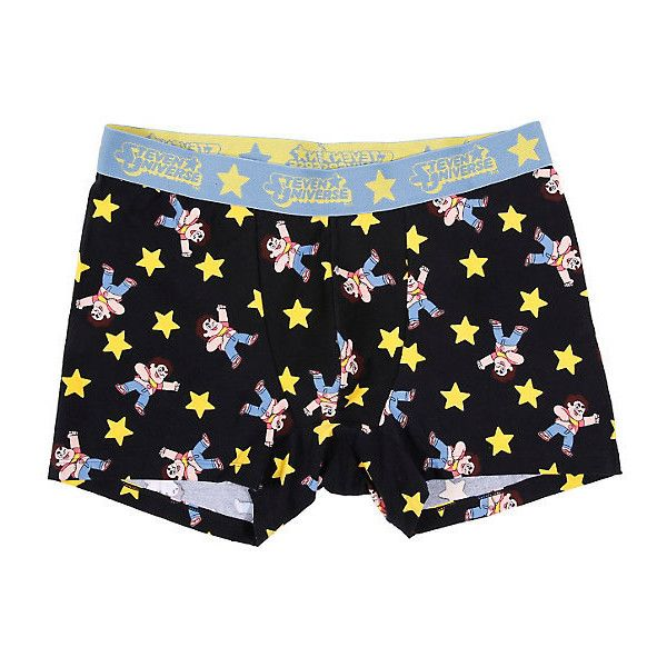 Steven Universe Boxer Briefs Hot Topic ($10) ❤ liked on Polyvore featuring intimates, panties, short boxer briefs, cotton boxer briefs, briefs boxers, cotton boxers and boxer briefs
