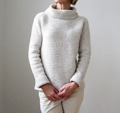 Knitting Pattern Sweater: Such a winter's day on Ravelry
