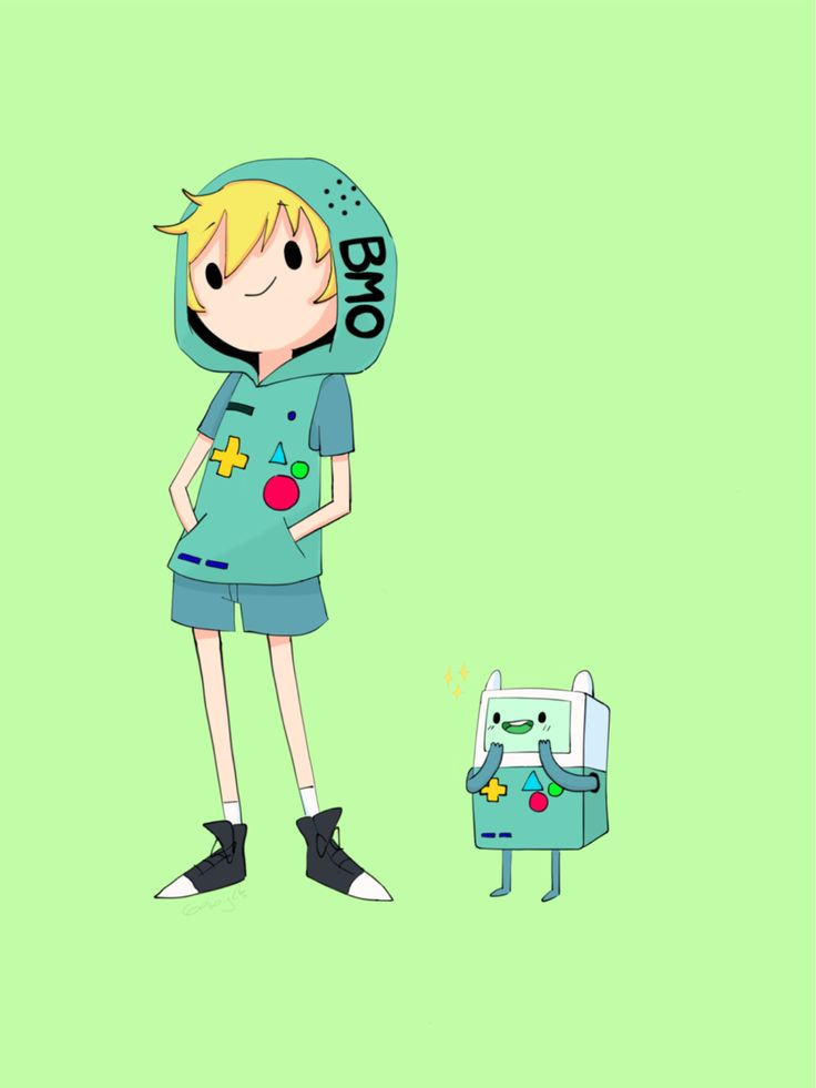 Gaby — Finn the human & BMO from Adventure time