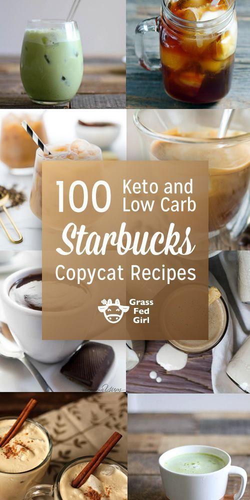 Low Carb and Keto Starbucks Coffee Recipes | Coffee recipes, Keto coffee recipe, Low carb starbucks