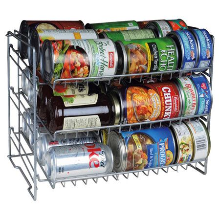 Found it at Wayfair - 3 Shelf Can Rack