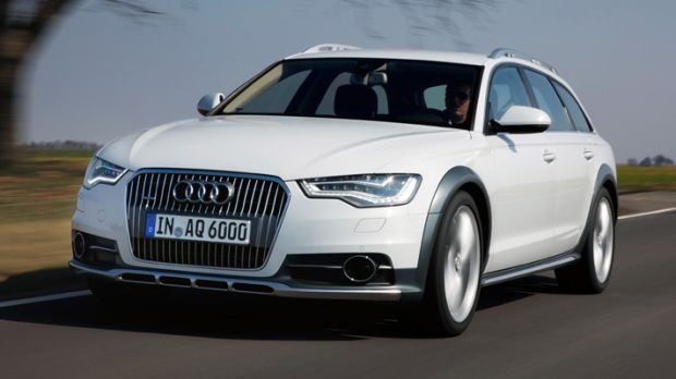 The new one only comes as a 3.0-litre V6; Audi is offering the petrol 307bhp V6 that hits 62mph in 5.9 seconds, and three versions of the V6 diesel, in 200bhp, 240bhp and 309bhp variants. That last unit is a twin-turbo and pushes out 479lb ft of torque, coaxing the allroad to go from 0-62mph in 5.6 seconds.