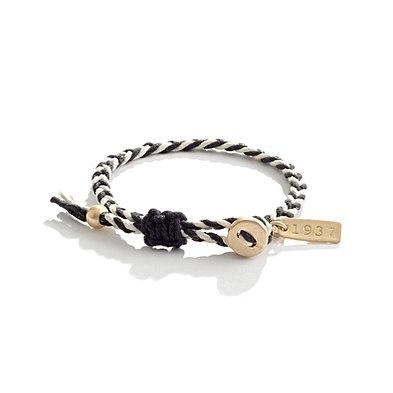 braided friendship bracelet / Madewell