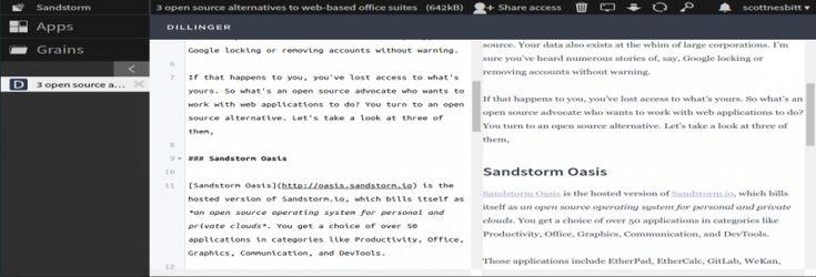 Sandstorm like office Open Source Pinterest Open source - open source spreadsheet