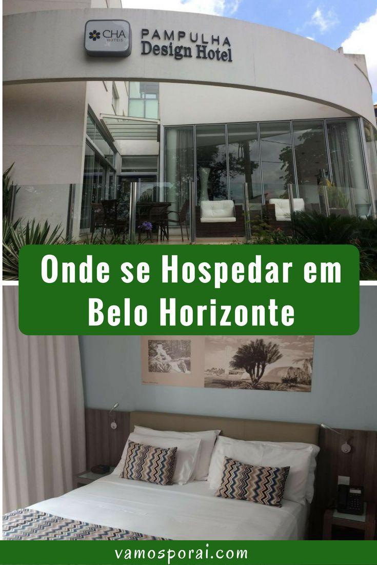 Que tal se hospedar em Belo Horizonte de frente para a Lagoa da Pampulha?