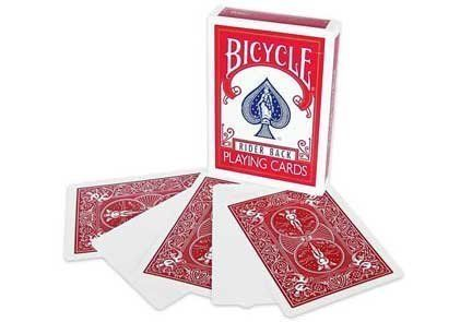 From 4.56:Bicycle Blank Face Red Back Magic Playing Cards | Shopods.com