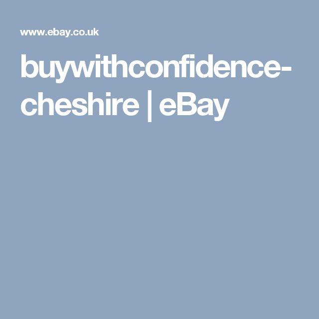 buywithconfidence-cheshire | eBay