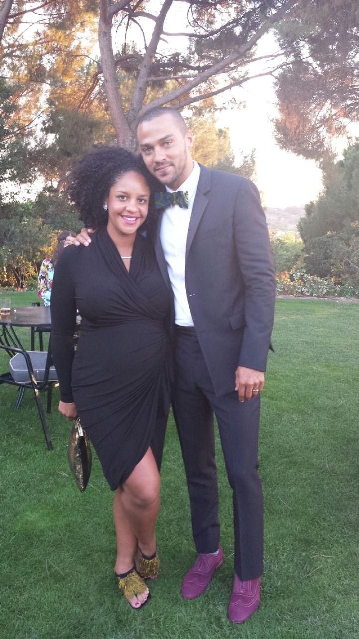 queennubian:  gradientlair:  christel-thoughts:  Jesse Williams and wifeAryn Drake-Lee. They married in 2012 and are expecting their first ...