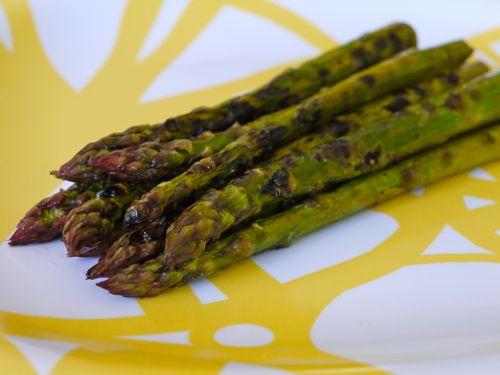 Grilled Lemon Asparagus - I have made this and I love it so much that I have to pin it so I don't lose the recipe. This is seriously THE BEST asparagus I have ever eaten. My entire family (even my 6 1/2 month old) loved it.