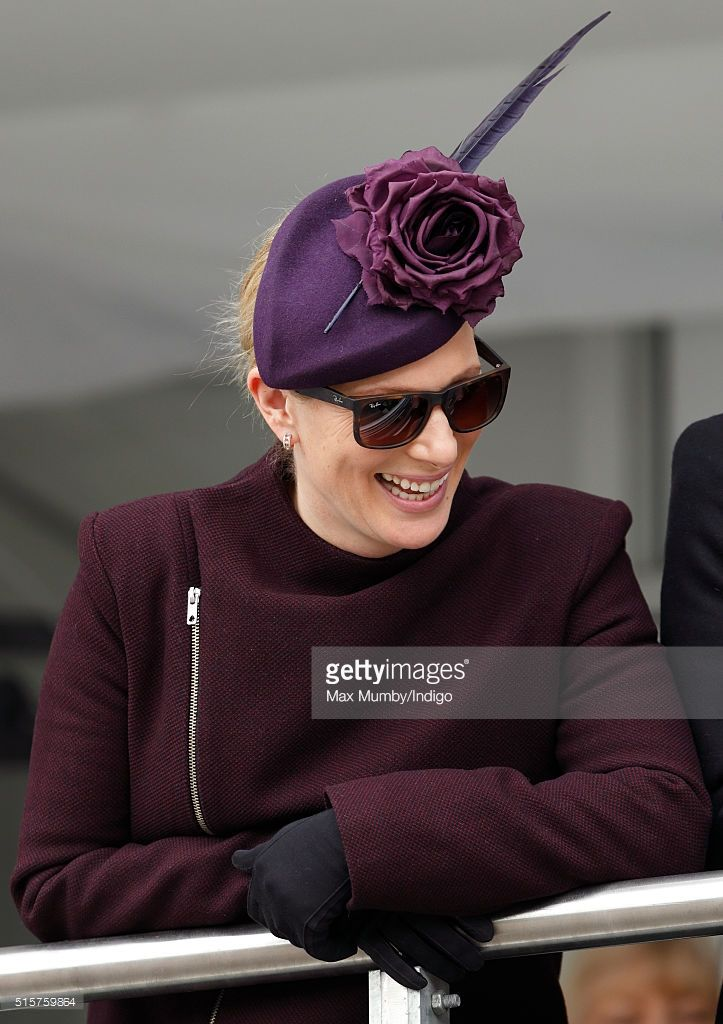 (EMBARGOED FOR PUBLICATION IN UK NEWSPAPERS UNTIL 48 HOURS AFTER CREATE DATE AND TIME) Zara Phillips attends day 1 of the Cheltenham Festival on March 15, 2016 in Cheltenham, England. (Photo by Max Mumby/Indigo/Getty Images)