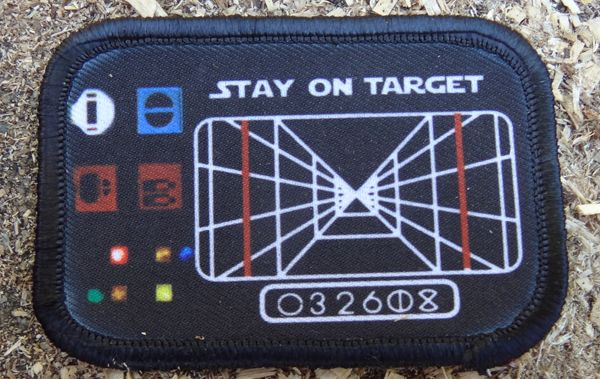 Star wars stay on target patch