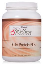 Wellness Resources Daily Protein Plus contains the highest quality undenatured whey protein. We utilize ceramic protein filtration technology, which removes all lactose, casein, and cholesterol and does not damage the protein. Makes an excellent breakfast!