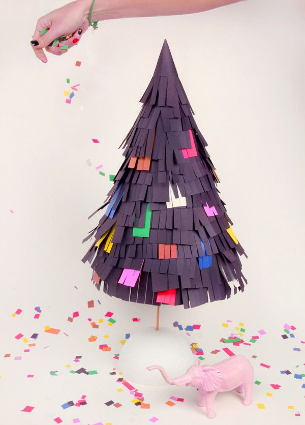 DIY Pinata inspired tree