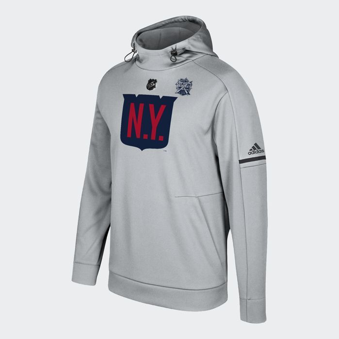 95877f32 adidas Rangers Authentic Pro Player 2018 Winter Classic Hoodie - Mens  Hockey Hoodies & Sweatshirts | Products | Adidas men, Adidas, Adidas hoodie